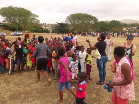 Community outreach in Durban