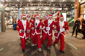 Santa Dash Team build